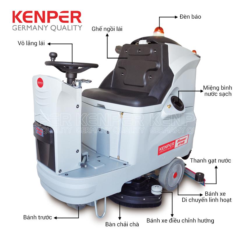 May-cha-san-lien-hop-Kenper-HUSSAR-870B